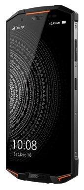 Смартфон Doogee Doogee S70 Fire Orange, 5.99'' 18:9 2160x1080, 2.5GHz, 8 Core, 6GB RAM, 64GB, up to 128GB flash, 12Mpix+5Mpix/16Mpix, 2 Sim, 2G, 3G, LTE, BT, Wi-Fi, NFC, GPS, Glonass, Micro-USB, 5500mAh, Android 8.1, 278.3g, 171.8x80.8x13.6, NFC, IP68, IP69K, MIL-STD-810G, Game Mode, Cooling doogee смартфон doogee mix 64gb ram 6gb синий космос