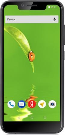 купить Смартфон Fly View черный 5.5 8 Гб LTE Wi-Fi GPS 3G Bluetooth дешево