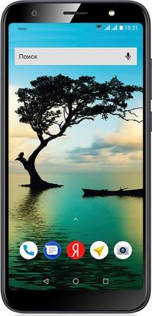 "Смартфон Fly Slimline синий 5.45"" 8 Гб LTE Wi-Fi GPS 3G Bluetooth цена и фото"