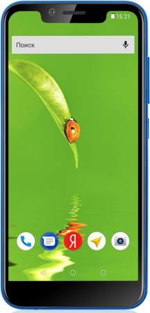"Смартфон Fly View синий 5.5"" 8 Гб LTE Wi-Fi GPS 3G Bluetooth"