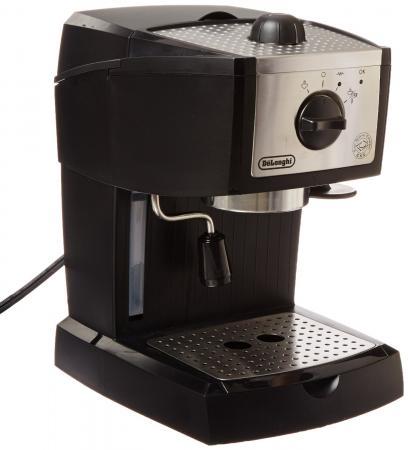 Кофеварка DeLonghi EC 155 15 бар черный цена и фото