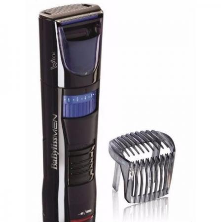Машинка для стрижки бороды BaByliss T820E синий чёрный машинка для бороды babyliss e886e