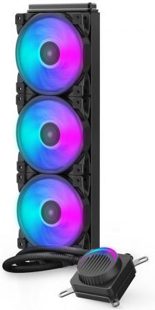 Комплект водяного охлаждения PCCooler GI-AH360U HALO RGB LGA2066/2011/1366/115х/775/AM4/FM1/2/2+/AM2/2+/3/3+ (8шт/кор, TDP 350W, 4 pin 12V RGB подсветка, 3х120mm PWM VortexPro FAN) RET комплект водяного охлаждения pccooler gi ah360c corona rgb lga2066 2011 1366 115х 775 am4 fm1 2 2 am2 2 3 3 8шт кор tdp 350w 4 pin 12v rgb подсветка 3х120mm pwm vortexpro fan ret