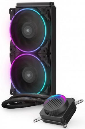 Комплект водяного охлаждения PCCooler GI-AH240C CORONA RGB LGA2066/2011/1366/115х/775/AM4/FM1/2/2+/AM2/2+/3/3+ (8шт/кор, TDP 250W, 4 pin 12V RGB подсветка, 2х120mm PWM VortexPro FAN) RET комплект водяного охлаждения pccooler gi ah360c corona rgb lga2066 2011 1366 115х 775 am4 fm1 2 2 am2 2 3 3 8шт кор tdp 350w 4 pin 12v rgb подсветка 3х120mm pwm vortexpro fan ret