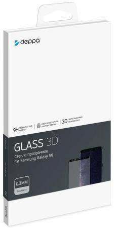 Защитное стекло Deppa 3D для Samsung Galaxy S9, 0.3 мм, черное (62420) цена и фото