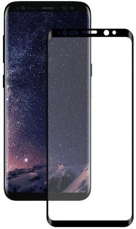 Защитное стекло Deppa 3D для Samsung Galaxy S9+, 0.3 мм, черное (62421) защитное стекло 3d deppa 62037 для apple iphone 7 plus 0 3 мм черное