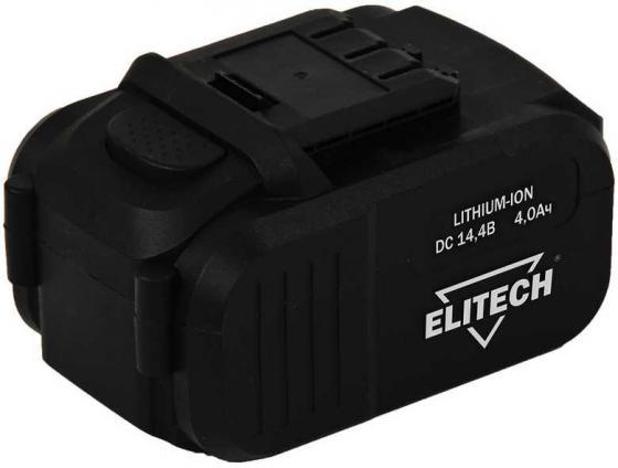 Фото - Аккумулятор ELITECH 1820.067500 14.4В 4.0Ач Li-ion для ДА 14СЛК слайдер аккумулятор