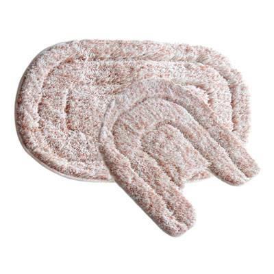 Набор IDDIS MID233MS ковриков для ванной комнаты 50х80+50х50см микрофибра pink illusion