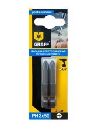 Набор бит Graff GBPZ0250 2шт lightstar lightstar g5 3 3w 4200k 940904