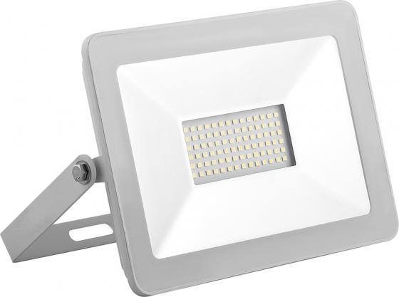 цена на Прожектор светодиодный SAFFIT 55073 2835 SMD, 50W 6400K IP65, белый в компактном корпусе, SFL90-50