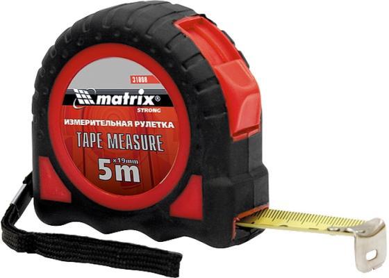Рулетка MATRIX 31080 strong 5мх19мм обрезиненный корпус цена в Москве и Питере