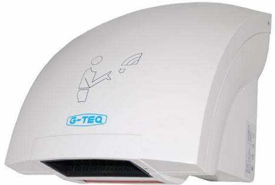 Сушилка для рук G-TEQ 8820 PW 2000Вт 16м/сек пластик белый