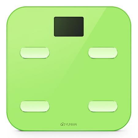 Весы напольные YUNMAI color M1302 зелёный