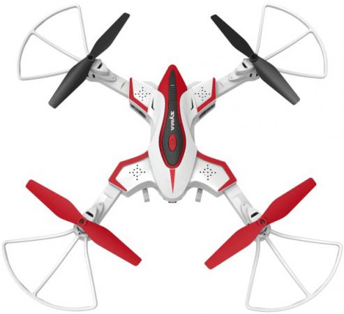 Фото - Квадрокоптер Syma X56W, белый видео