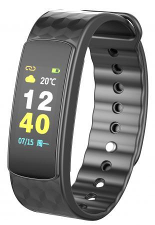 Умный браслет iWOWN i6HR color с цветным дисплеем умные часы iwown i6hr black