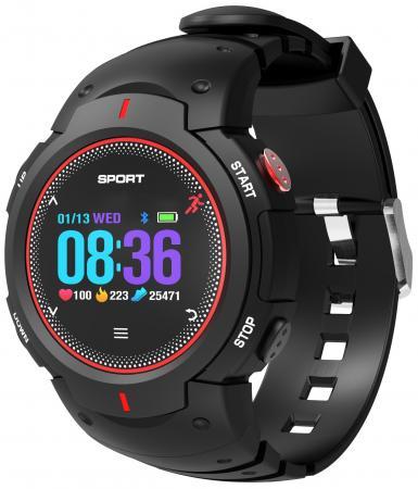 лучшая цена Умные часы NO.1 F13 черно-красные