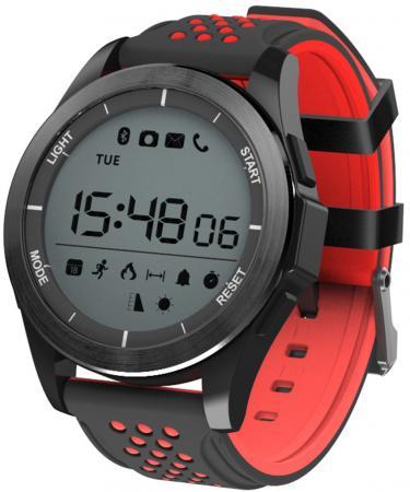 Фото - Умные часы NO.1 F3 черно-красные умные часы no 1 f5 черно красные