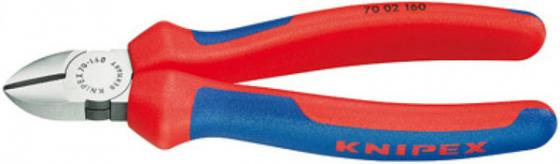 Кусачки KNIPEX KN-7002125 боковые фосфатированные 125mm