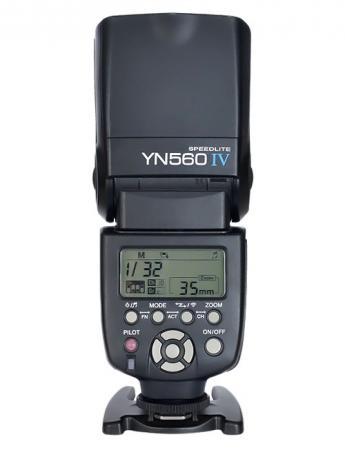 Фотовспышка Yongnuo Speedlite YN-560 IV универсальная цена и фото