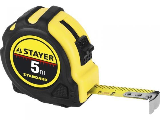 Рулетка Stayer 34025-07 7.5мx25мм рулетка stayer 34025 02 standard toptape