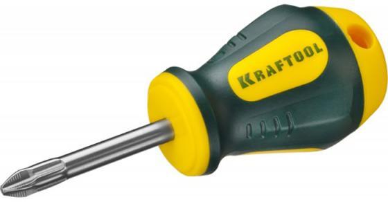 Отвертка KRAFTOOL EXPERT, Cr-Mo-V сталь, двухкомпонентная противоскользящая рукоятка, PH, №2x38 мм [250072-2-038]