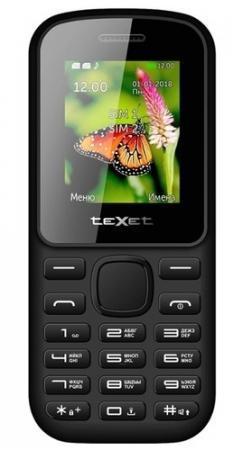 купить Мобильный телефон Texet 130-TM красный черный 1.77 32 Мб дешево