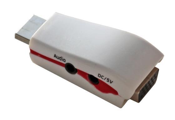 5bites AP-022 Переходник HDMI M / VGA F / AUDIO / POWER цена и фото