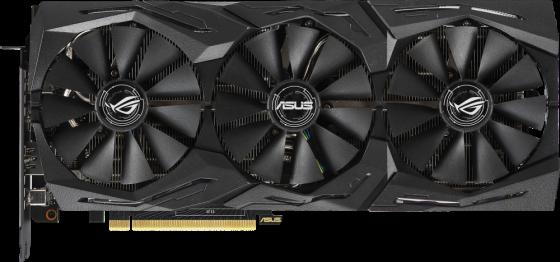 Видеокарта ASUS nVidia GeForce RTX 2070 ROG STRIX GAMING PCI-E 8192Mb GDDR6 256 Bit Retail ROG-STRIX-RTX2070-8G-GAMING