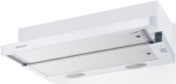 Вытяжка встраиваемая Faber Flexa GLASS M6 W A60 белый управление: ползунковое (1 мотор) все цены
