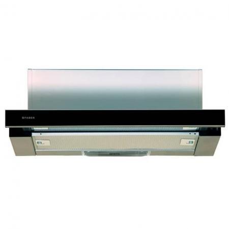 Вытяжка встраиваемая Faber Flox GLASS BK A60 черный все цены