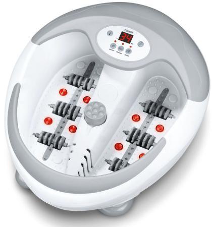 Гидромассажная ванночка для ног Beurer FB50 400Вт белый гидромассажная ванночка для ног smile wfm 3006