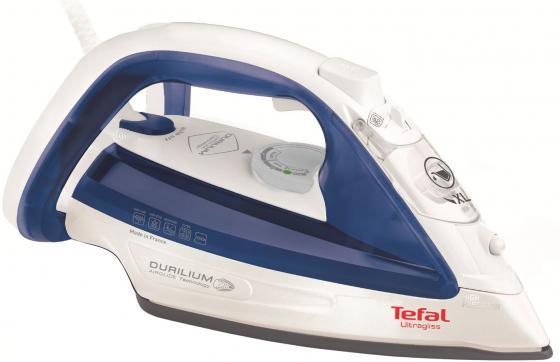 цена на Утюг Tefal FV4913E0 2500Вт белый/синий
