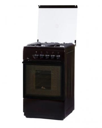 купить Газовая плита Flama FG 24022 B коричневый недорого