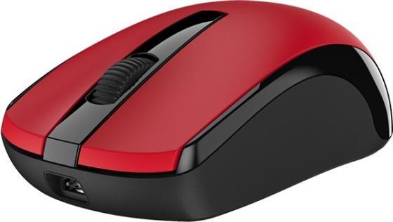 Мышь беспроводная Genius ECO-8100 (31030004403) красный USB + радиоканал цена и фото