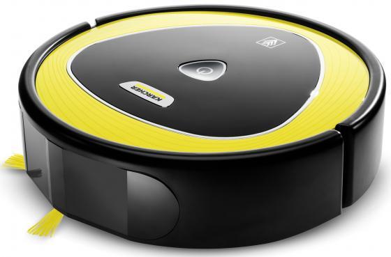 Робот-пылесос Karcher RC 3 сухая уборка чёрный жёлтый