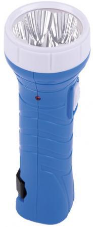 Smartbuy SBF-99-B Аккумуляторный Светодиодный фонарь 5 LED с прямой зарядкой синий фонарь красная цена 5388 аккумуляторный 9led 2режима 5 9 встр вилка для прямой зарядки от 220в