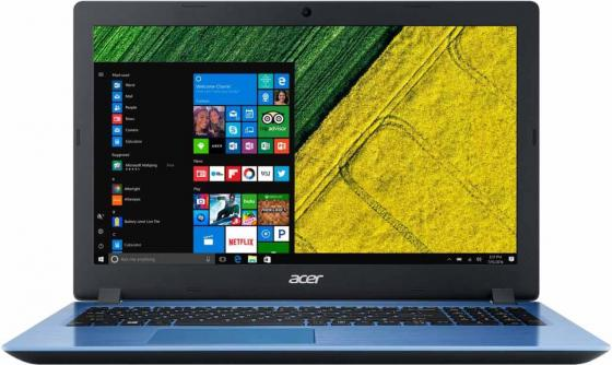 Ноутбук Acer Aspire A315-51-5766 Core i5 7200U/8Gb/1Tb/Intel HD Graphics 620/15.6/HD (1366x768)/Windows 10/blue/WiFi/BT/Cam eken h8 h8r action camera 1080p 60fps sport cam wifi 2 0 dual screen ultra hd 4k wifi remoto control 170 degree helmet cam