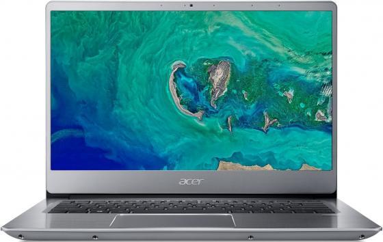 лучшая цена Ноутбук Acer SF314-56-5403 Swift 3 14.0'' FHD(1920x1080) IPS/Intel Core i5-8265U 1.60GHz Quad/8GB/256GB SSD/GMA HD/noDVD/WiFi/BT/1.0MP/SDXC/Fingerprint/4cell/1.45kg/Linux/1Y/SILVER