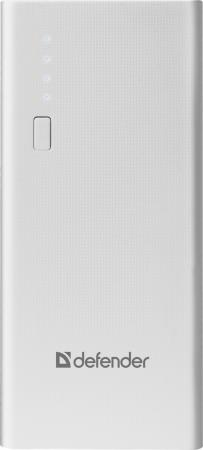Фото - Внешний аккумулятор Power Bank 10000 мАч Defender Lavita 10000E белый аккумулятор
