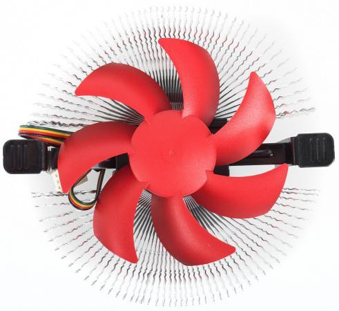 CROWN Кулер для процессора CM-91 PWM ( Для Intel и AMD, TDP до 125 Ватт, коннектор 4 pin, PWM, Низкая посадка радиатора, Гидродинамическии? подшипник, Размер: 115*110*57 мм)  - купить со скидкой