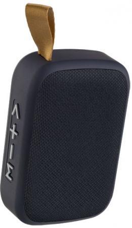 Perfeo Bluetooth-колонка BRICK MP3, microSD, USB, AUX, мощность 3Вт, 500mAh, черная