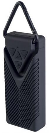 Perfeo Bluetooth-колонка BISCUIT MP3, microSD, мощность 3Вт, 400mAh, черная