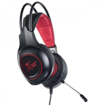 купить Игровая гарнитура проводная Perfeo Fuse черный PF_A4422 по цене 710 рублей