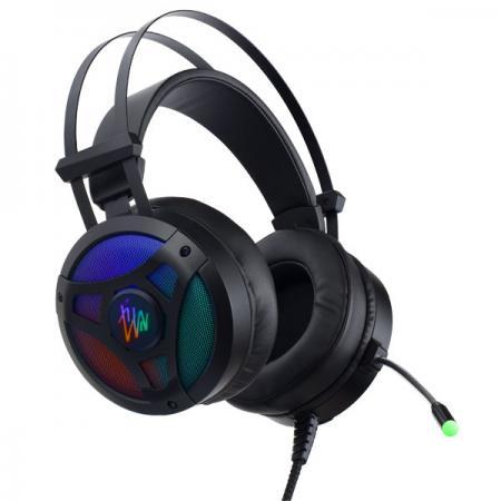 Игровая гарнитура проводная Perfeo TITAN черный игровая гарнитура проводная perfeo guard черный синий pf a4429