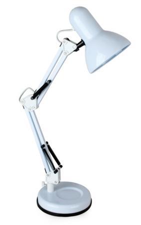 Camelion KD-313 C01 белый (Светильник настольный,230V 60W, E27)