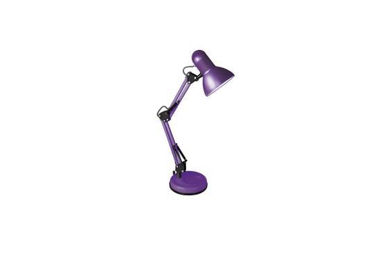 цена на Camelion KD-313 C12 фиолетовый (Светильник настольный,230V 60W, E27)