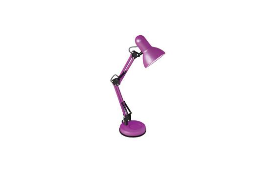 Camelion KD-313 C15 пурпурный (Светильник настольный,230V 60W, E27)