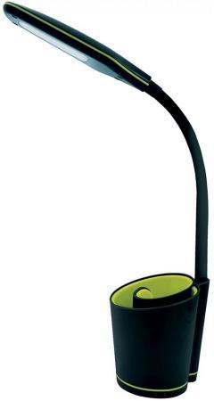 Camelion KD-813 C44 черн.& жёлт. LED (Свет-к наст.,5 Вт, сенс.,3 ур.ярк, органайзер,USB разъём 2А)