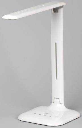 Smartbuy SBL-DL-7-NW5-S-White Светодиодный настольный светильник (LED) 7W/NW/5-S Dim/W {100-220В, 2700-6500К, 7Вт, 24 диода SMD 5050, 5 шаговый диммер, 3 варианта свечения, ABS пластик} диммер volsten v01 11 d11 s white