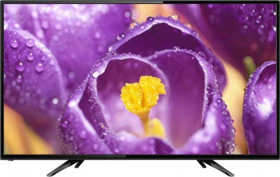 """Телевизор 40"""" Hartens HTV-40F01-T2C/A4/B черный 1920x1080 60 Гц Wi-Fi Smart TV Антенный вход Компонентный Для наушников цена и фото"""
